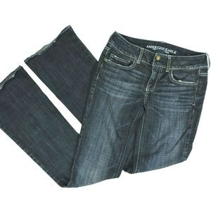 American Eagle Blue Jeans 2 Long Artist Low Rise